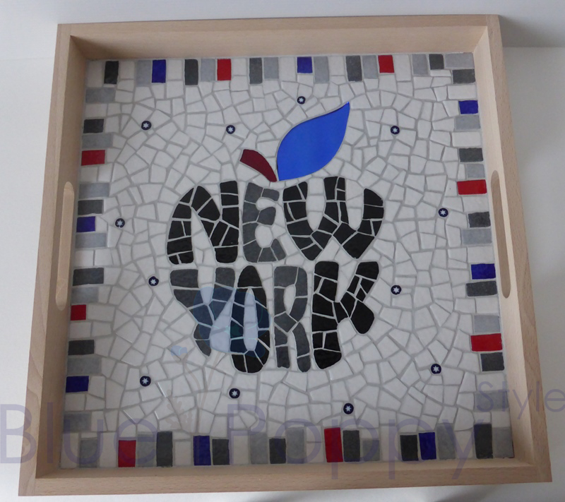 Plateau mosaïque New York Big Apple